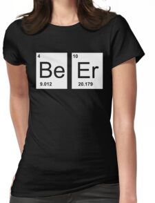 Beer Elements Womens Fitted T-Shirt