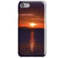 Bleeding sunset iPhone Case/Skin