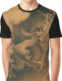 Japanese Dragons - Kano Hogai Graphic T-Shirt