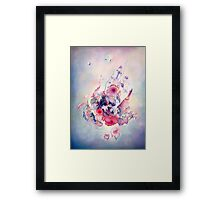 """The Flight"" from the series  ""Flower Galaxies"" Framed Print"