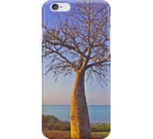 town beach baobab tree iPhone Case/Skin