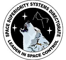 Space Superiority Systems Directorate Crest Photographic Print