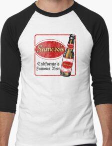 Samcro Beer Coaster Men's Baseball ¾ T-Shirt