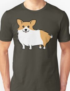 Cute Corgi Puppy Dog Unisex T-Shirt