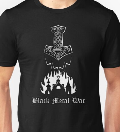 Black Metal War - Mjolnir Unisex T-Shirt