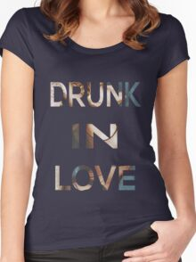 Drunk In Love Women's Fitted Scoop T-Shirt