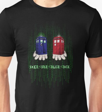 Take The Blue Box Unisex T-Shirt