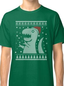 Christmas Dino Ugly Sweater T-Shirt Classic T-Shirt