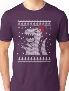 Christmas Dino Ugly Sweater T-Shirt Unisex T-Shirt