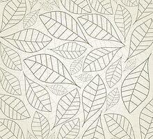 Leaf a background by Aleksander1