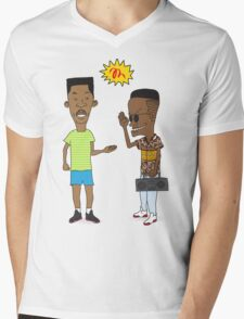 the handshake Mens V-Neck T-Shirt