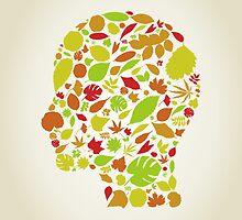Leaf a head by Aleksander1