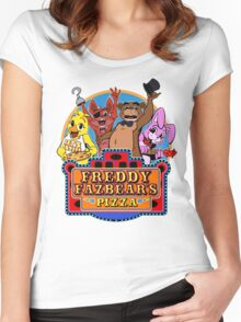 Fun times at Freddy's Women's Fitted Scoop T-Shirt