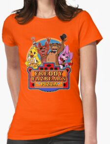 Fun times at Freddy's Womens Fitted T-Shirt