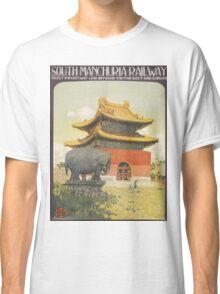 Vintage poster - South Manchuria Railway Classic T-Shirt