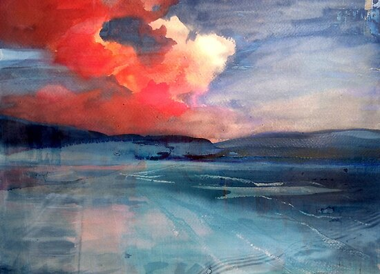Sky on Fire by Claudia Dingle