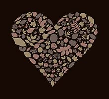 Leaf heart by Aleksander1