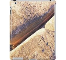 cable beach rock pattern iPad Case/Skin