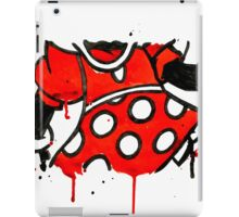 Minnie Mess - Body iPad Case/Skin