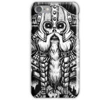 Valhall awaits me iPhone Case/Skin