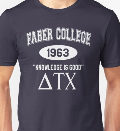 Faber College - Animal House Unisex T-Shirt