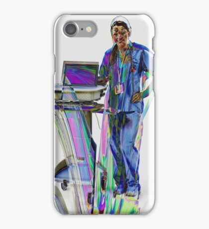I'm Here To Help iPhone Case/Skin