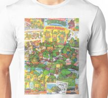 Vintage Comic Teenage Mutant Hero Turtles Unisex T-Shirt