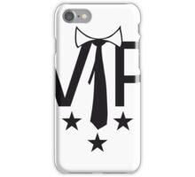 sterne krawatte star famous berühmt wichtig reich vip person dj cool hemd text shirt logo  iPhone Case/Skin