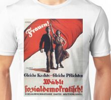 Vintage poster - German Women's Suffrage Unisex T-Shirt