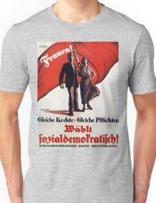 Vintage poster - German Women's Suffrage Unisex T-Shirt