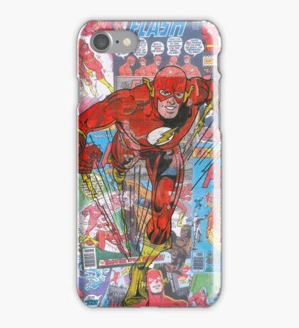 Vintage Comic Flash iPhone Case/Skin