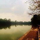 Siem Reap River by mindy23