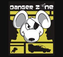 Danger Zone - yellow Baby Tee