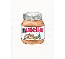 Nutella Time Photographic Print