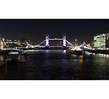 Tower Bridge By Night Photographic Print