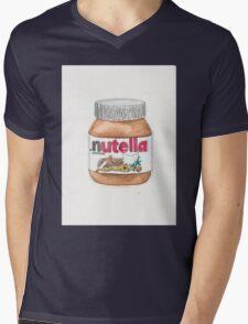 Nutella Time Mens V-Neck T-Shirt