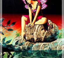 The Fairy of swan lake by Marina Coffey