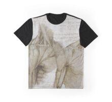 Da Vinci Anatomy Graphic T-Shirt