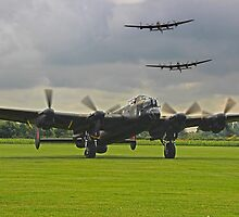 3 Lancasters - East Kirkby  by Colin  Williams Photography