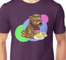 Dapper Breakfast Bear Unisex T-Shirt