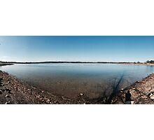 Fall at Stony Creek Lake Photographic Print