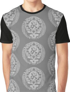 Grateful Dead -  Psychedelic Skull Felix  Graphic T-Shirt