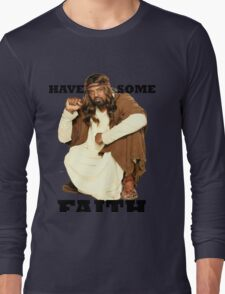 BLACK JESUS Long Sleeve T-Shirt