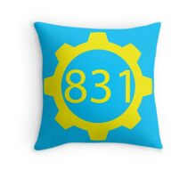 Fallout Shelter 831 (Santa Cruz,CA) Throw Pillow
