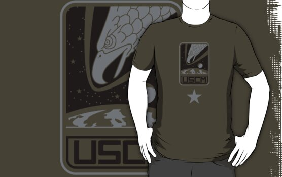 Aliens - US Colonial Marine Corps (Insignia) by James Ferguson - Darkinc1