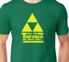 May the Triforce be with you... Unisex T-Shirt