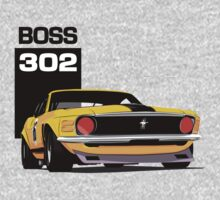 Ford Mustang Boss 302 Kids Clothes