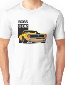 Ford Mustang Boss 302 Unisex T-Shirt