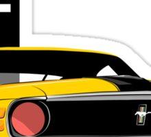 Ford Mustang Boss 302 Sticker
