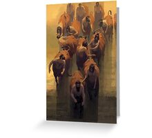 Age of Centaurs 2 Greeting Card